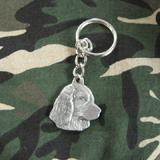 Pewter Key Chain I Love My Boykin Spaniel