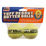 Tuff Balls Peanut Butter Flavored 2pk Dog Toy