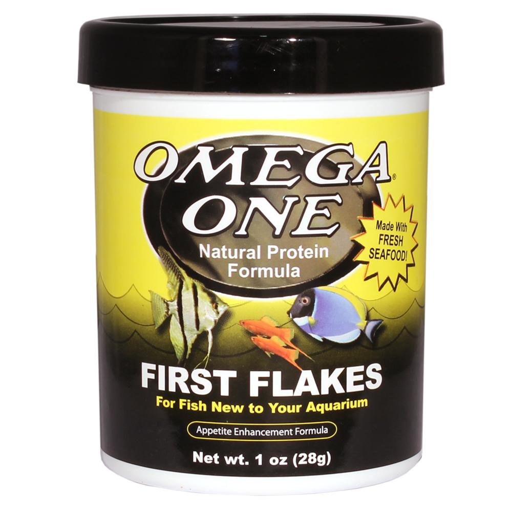 Omega One First Flake Fish Food 1 ounce