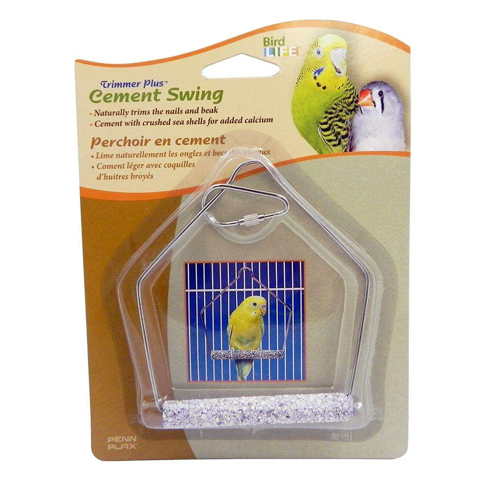 Penn Plax Swing Cement 3 inch Bird Toy