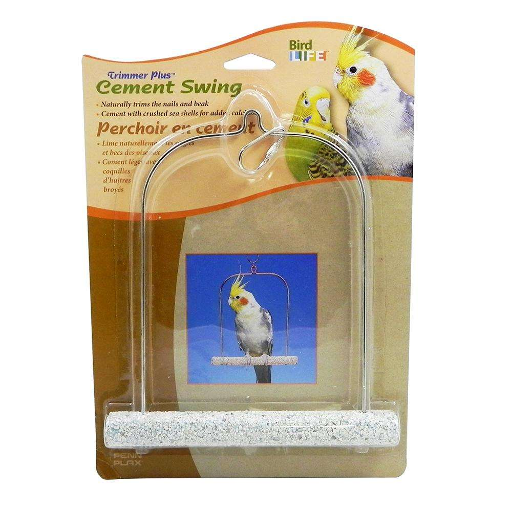 Penn Plax Swing Cement 7 inch Bird Toy