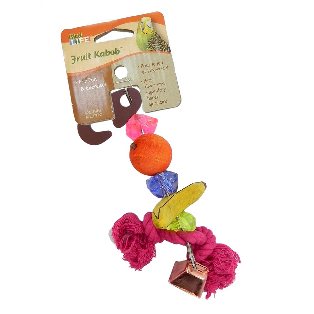 Penn Plax Fruit Kabob Small Bird Toy