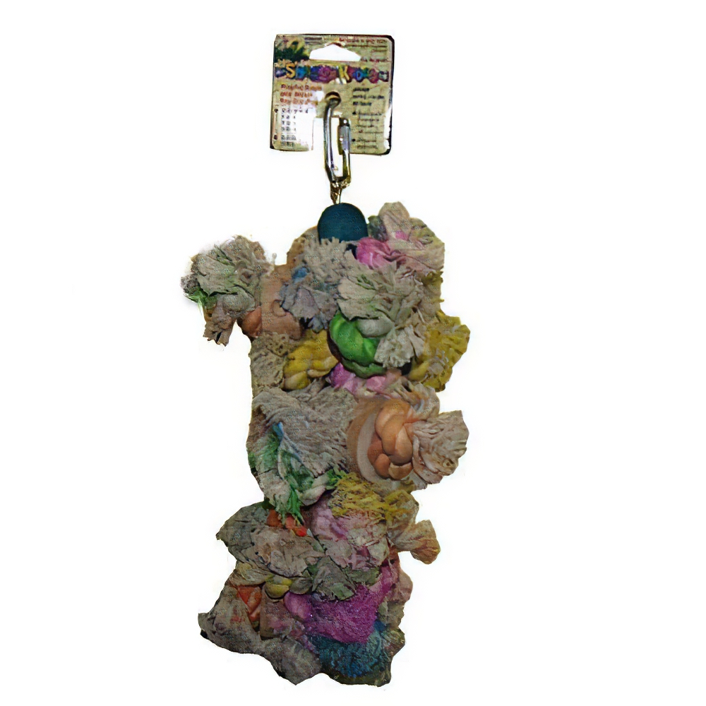 Penn Plax Shaggy Kabob Extra Large Bird Toy