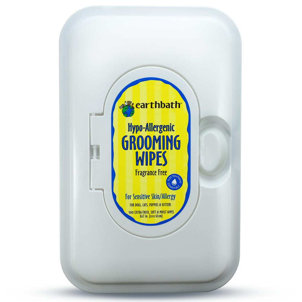 Earthbath Hypo-Allergenic All Natural Pet Grooming Wipes