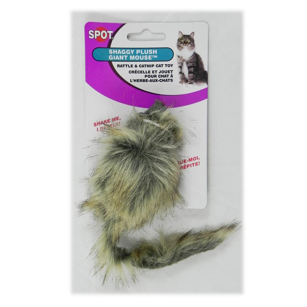 Fur Mouse Large Cat Toy