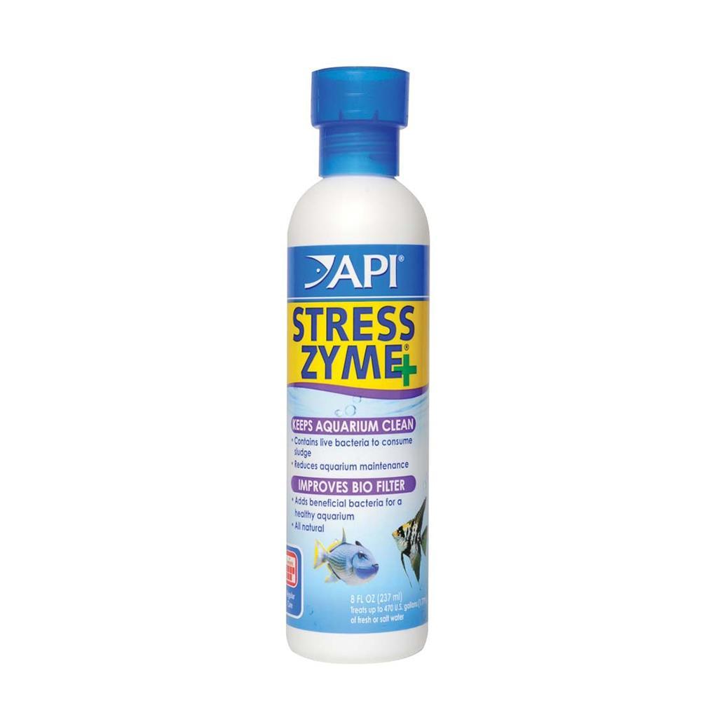 Stress Zyme 8 oz Live Culture for Aquarium Filters
