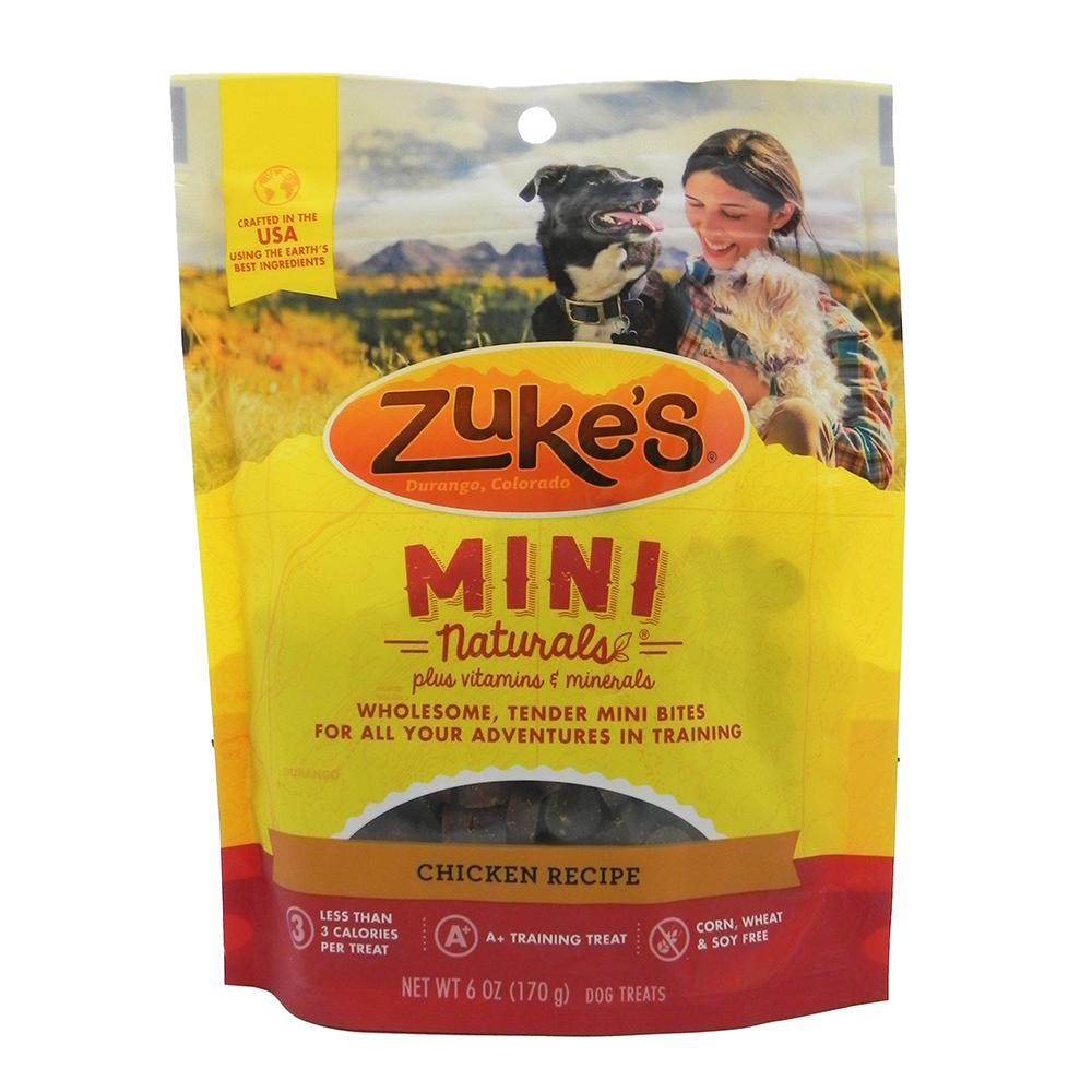 Zuke's Mini-Naturals Chicken 6oz Dog Treat