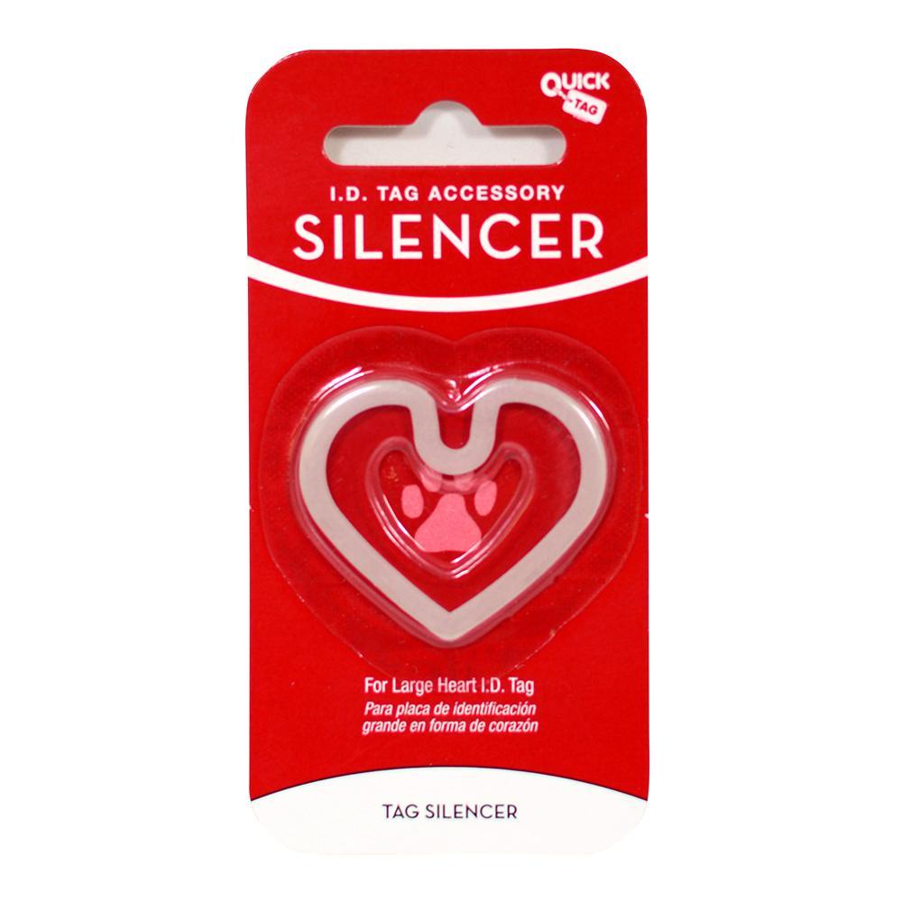 Heart ID Tag Silencer Large