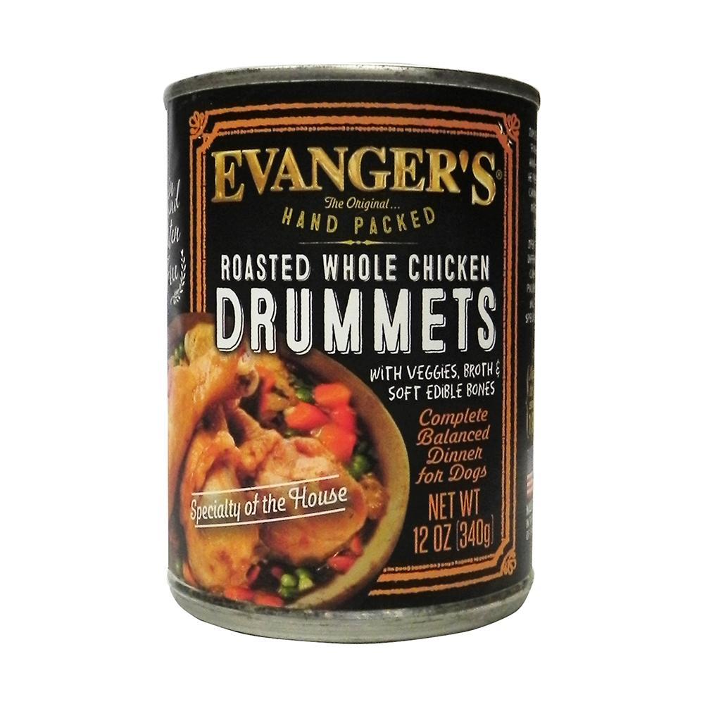 Evanger's Roasted Chicken Drummette Dinner Canned Dog Food