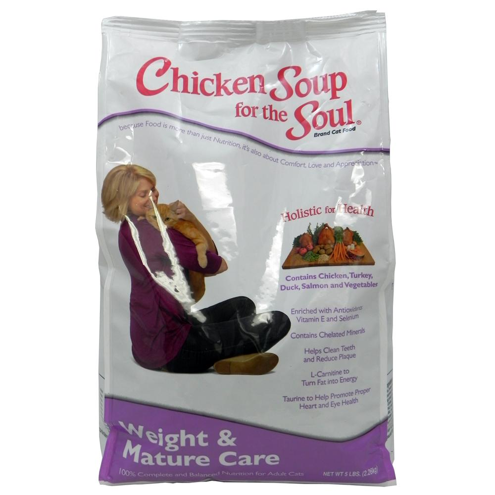 Chicken Soup for the Cat Lovers Weight/Mature 5 Lb