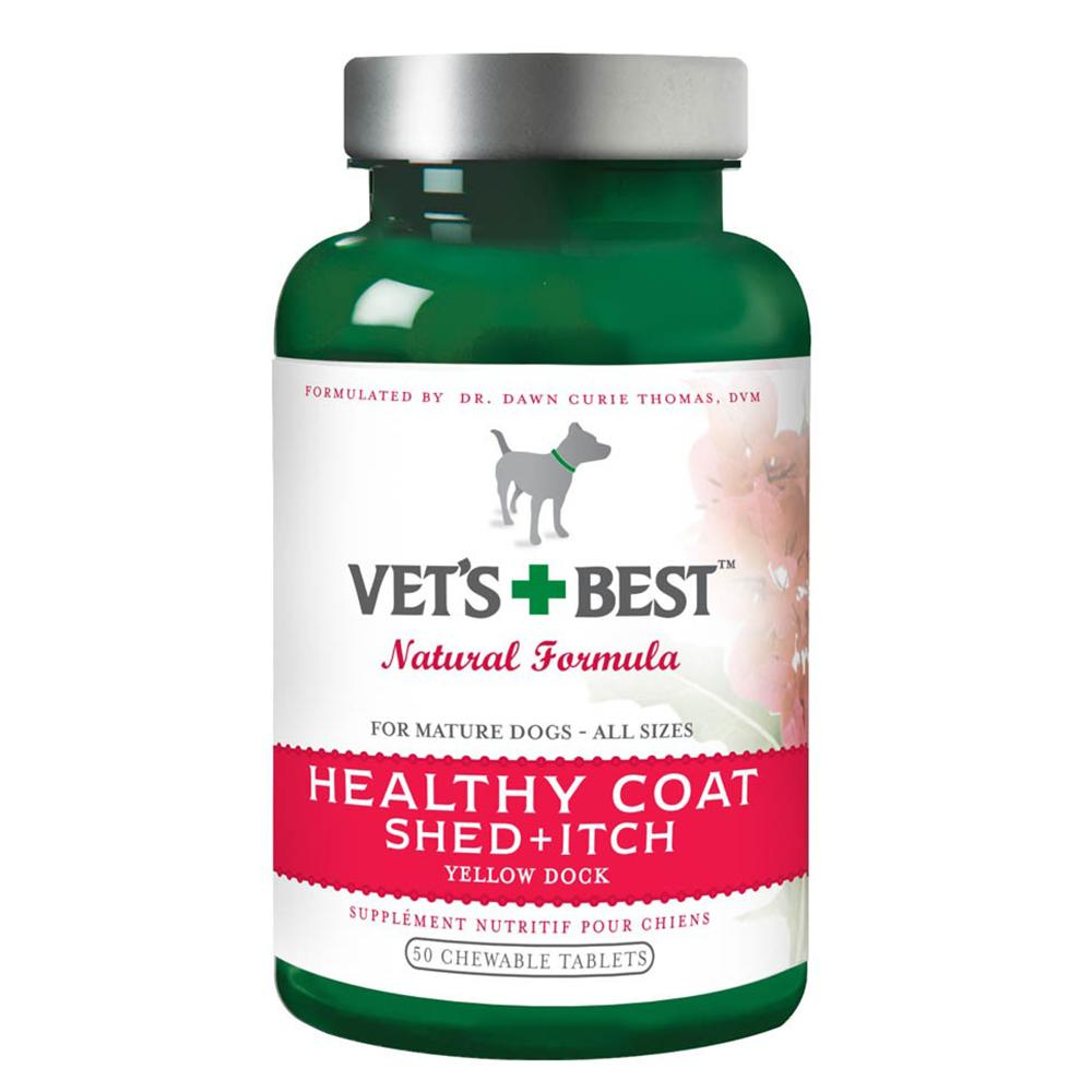 Vets Best Pet Shed & Itch Relief 50 Ct