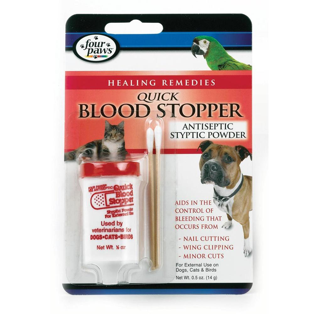 Four Paws Quick Blood Stopper Styptic Gel 1.16oz for Pets
