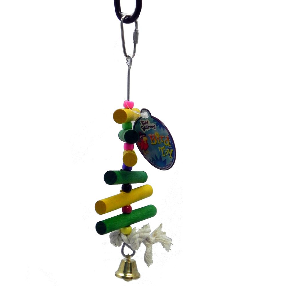 Bird Brainers Mini Rounds Small Bird Toy