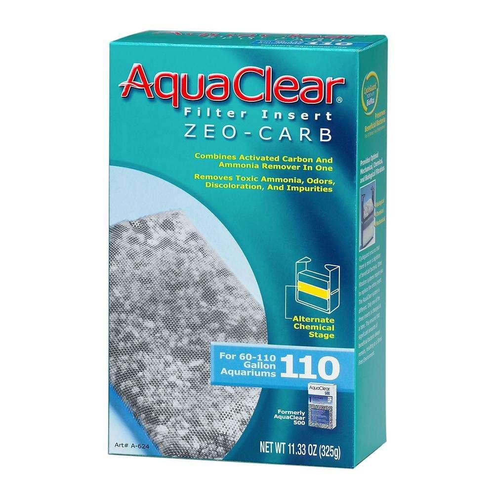 AquaClear 110 Zeo-Carb Aquarium Filter Insert