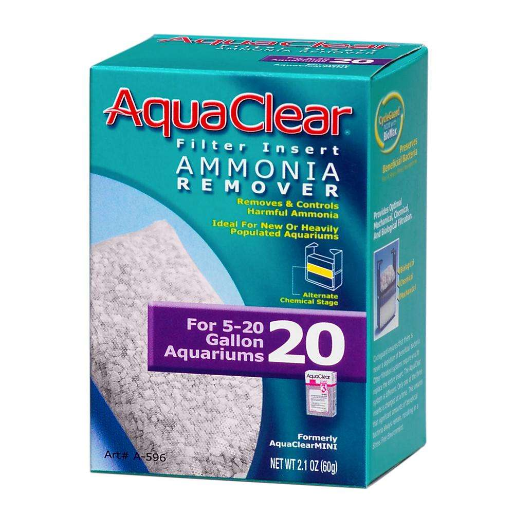 AquaClear 20 Ammonia Remover Aquarium Filter Insert