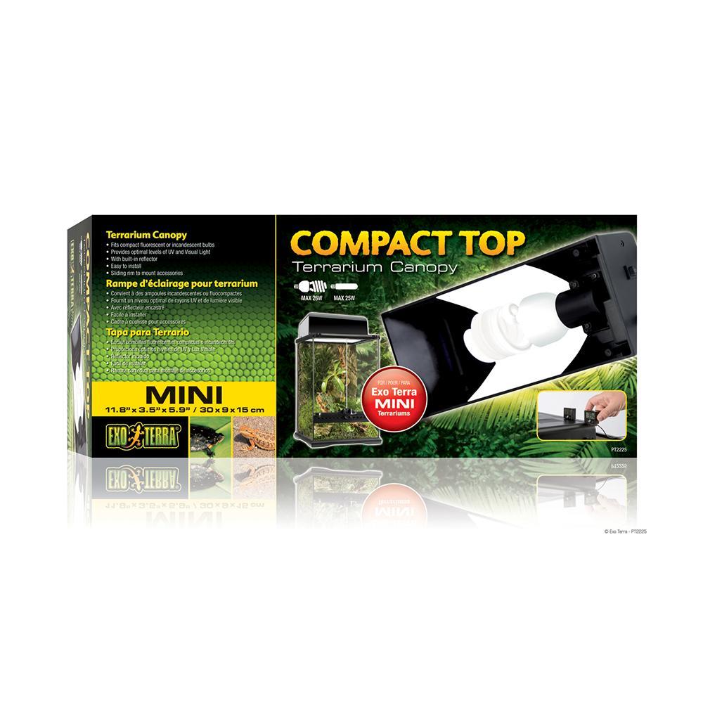 Exo Terra Compact Top Terrarium Canopy Mini