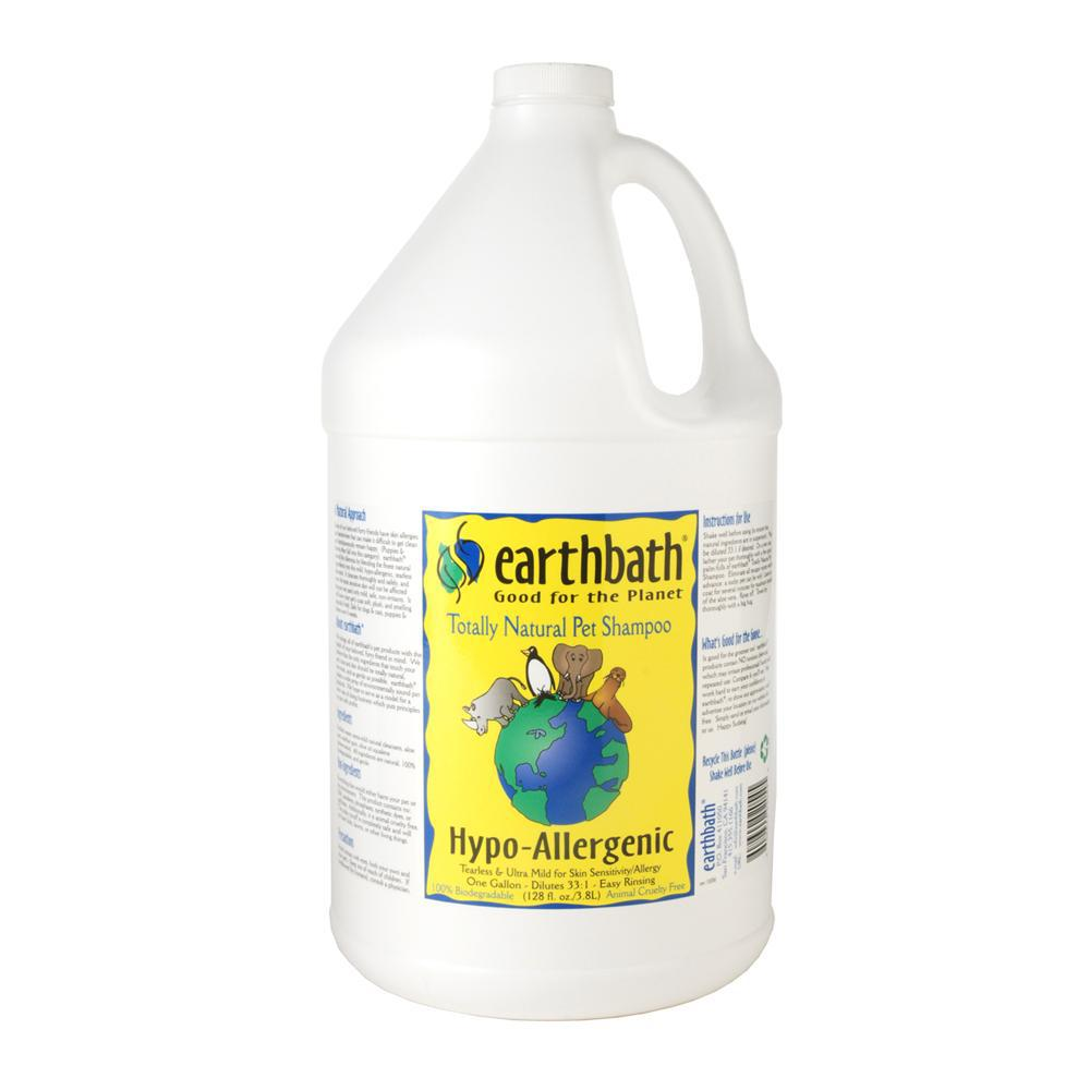 Earthbath Hypo-Allergenic Pet Shampoo Gallon