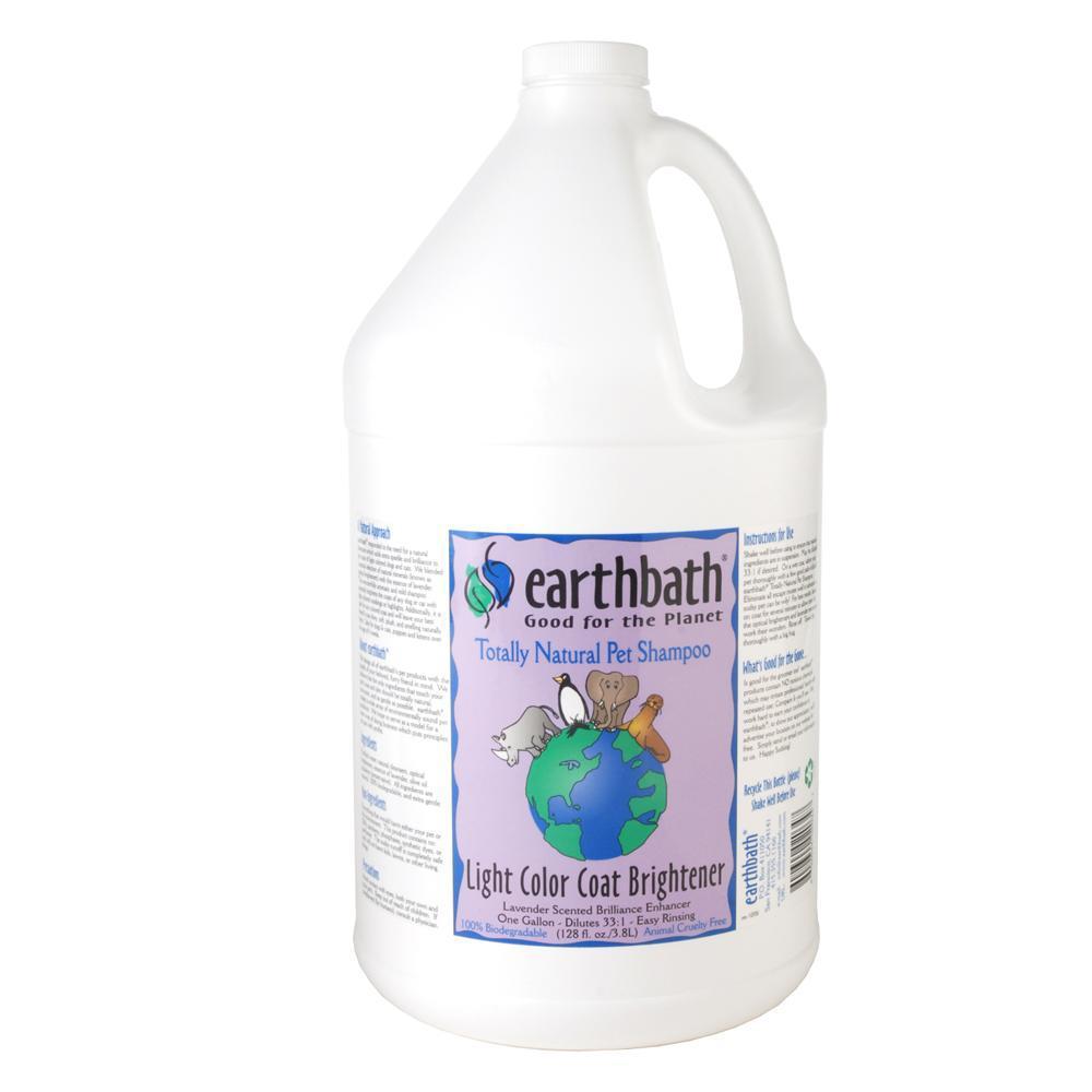 Earthbath Pet Shampoo Light Coat Gallon