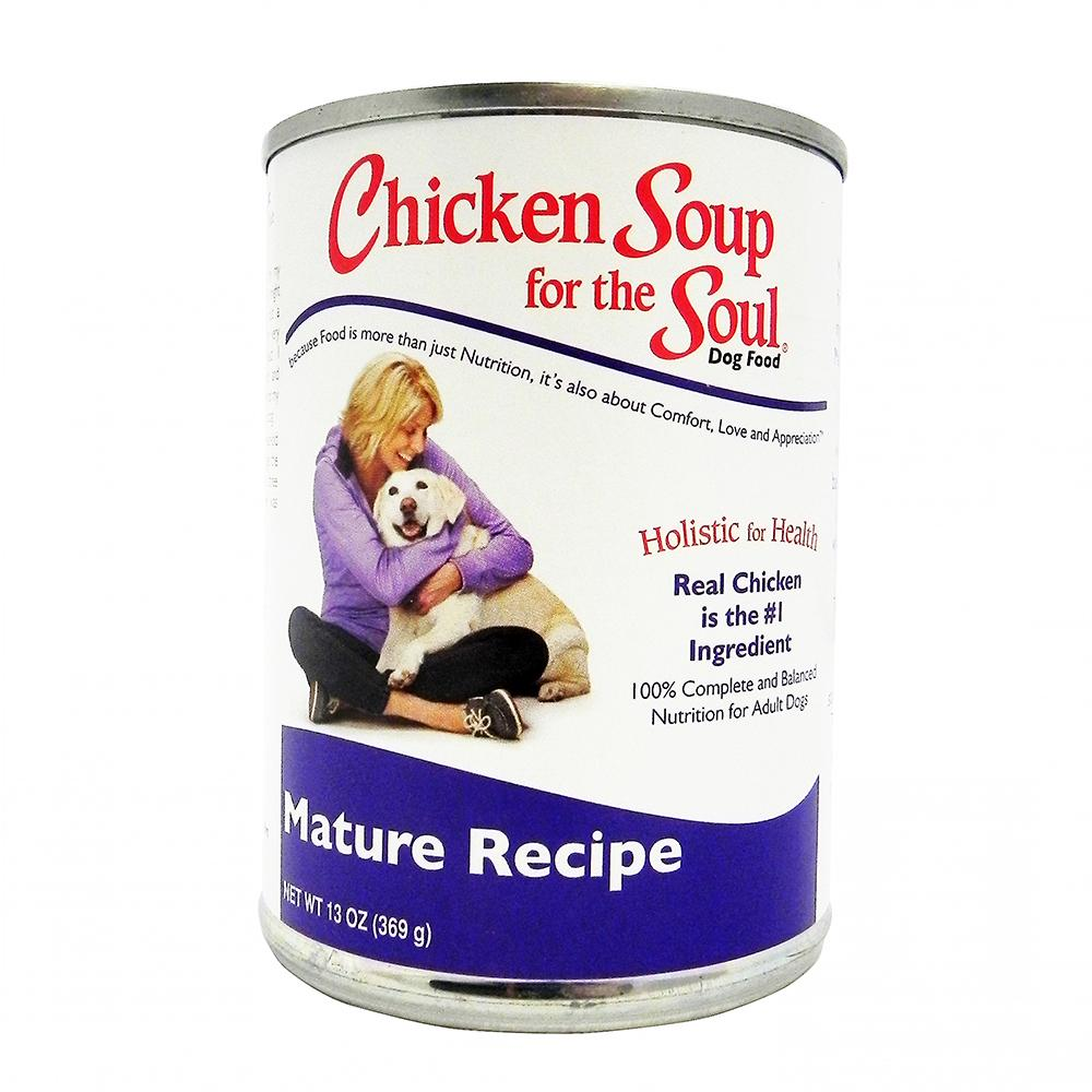 Chicken Soup for the Dog Lovers Soul  Senior Case 13 oz Cans