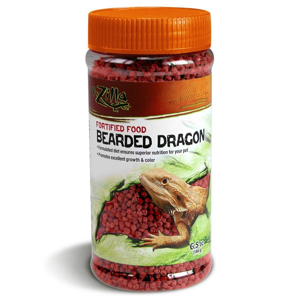 Zilla Bearded Dragon Pellet Food 6.5 oz