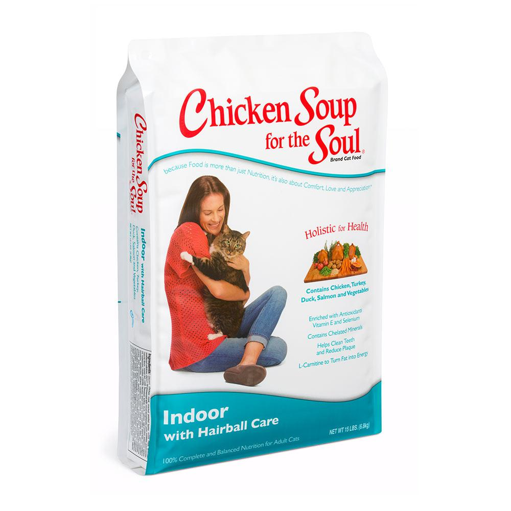 Chicken Soup for the Cat Lovers Soul Senior Hairball 18 Lb