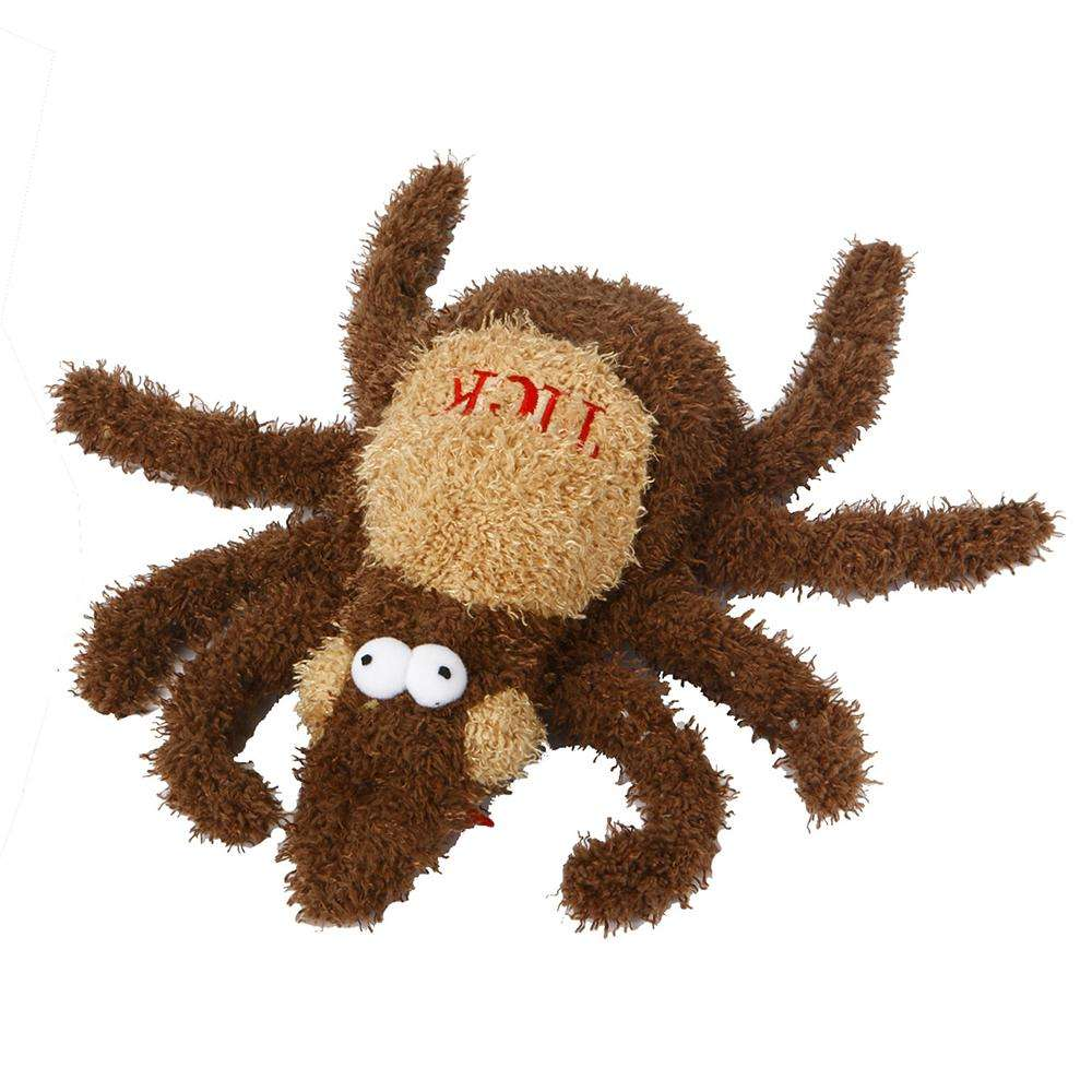 Soft Dog Toy Tick Large Dog Toy with Squeaker