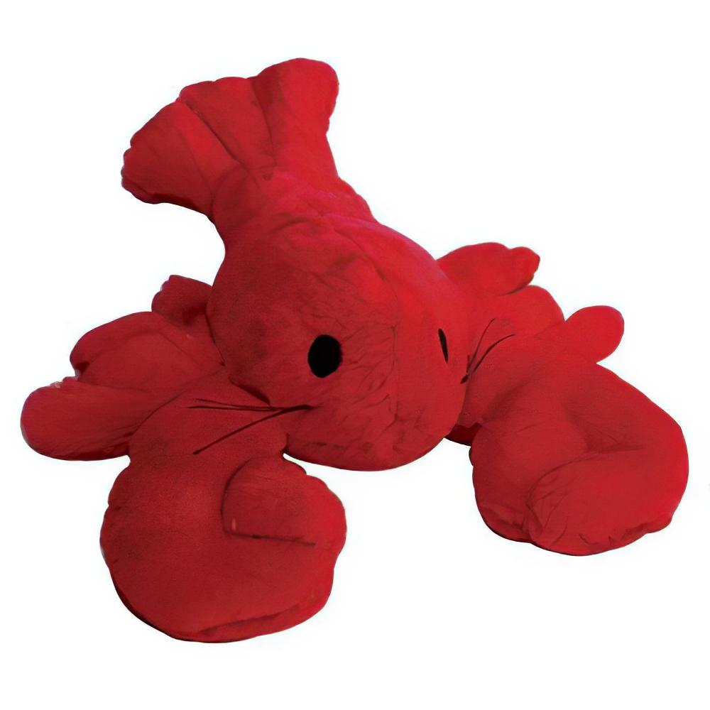 Soft Toy Lobster Dog Toy with Squeaker