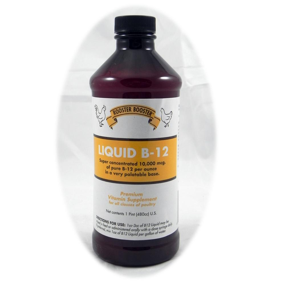 Rooster Booster Liquid Vitamin B12 for Poultry