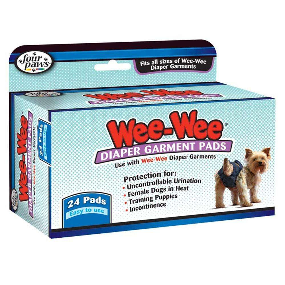 Sanitary Pads for Four Paws Britches for Dogs