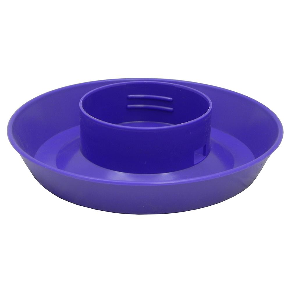 Mason Jar Bird Feeder Base Purple