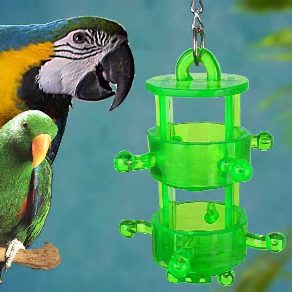 Nature's Instinct Snack Rack Bird Treat Dispenser Toy