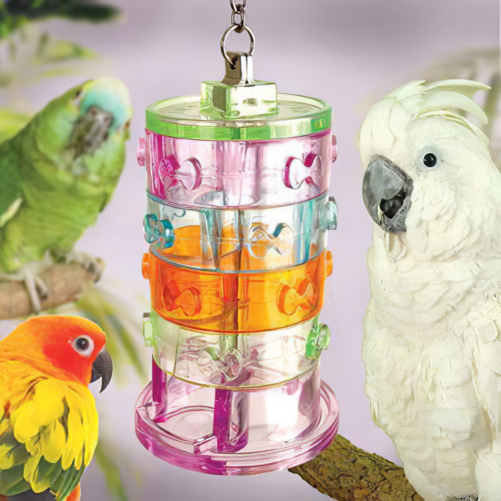 Nature's Instinct Rings of Fortune Bird Toy