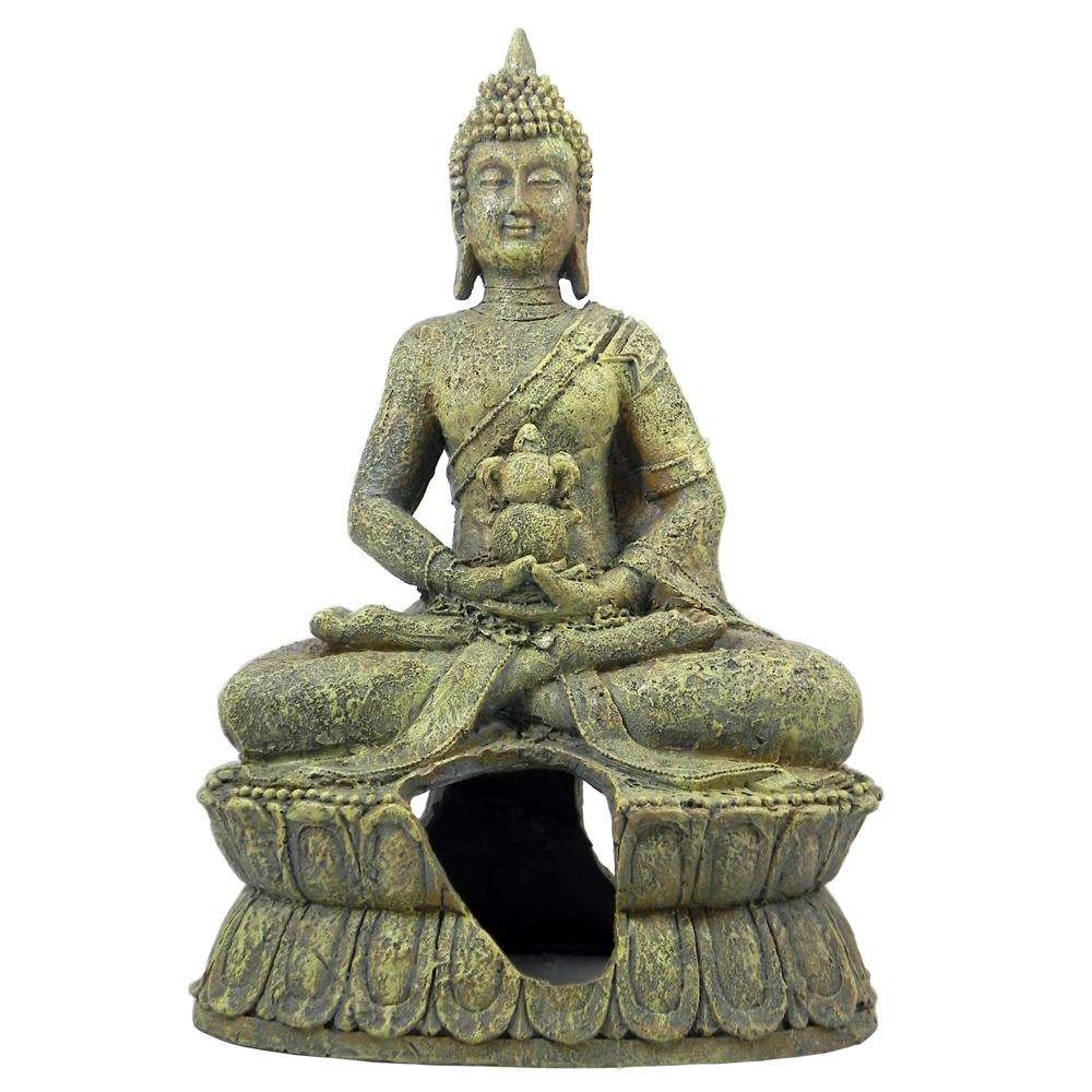 Sitting Buddha Large Aquarium Ornament