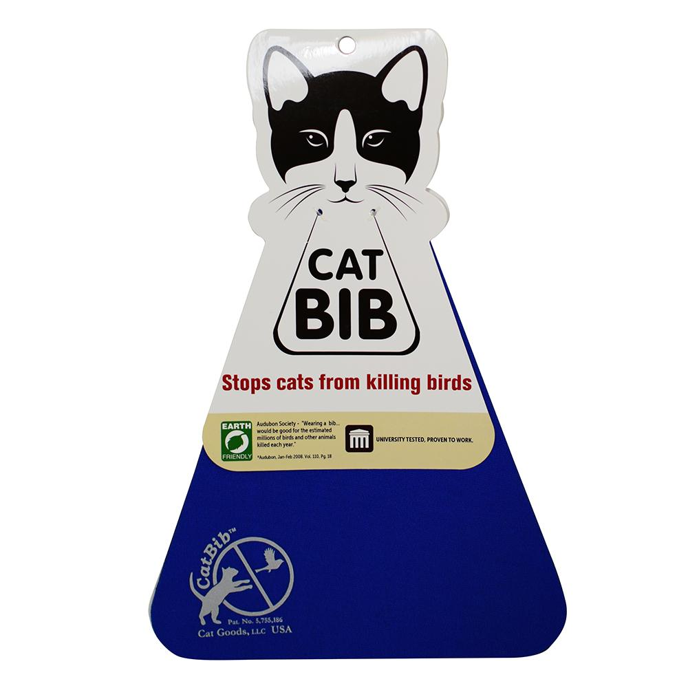 CatBib WildBird Saver Royal Blue Small
