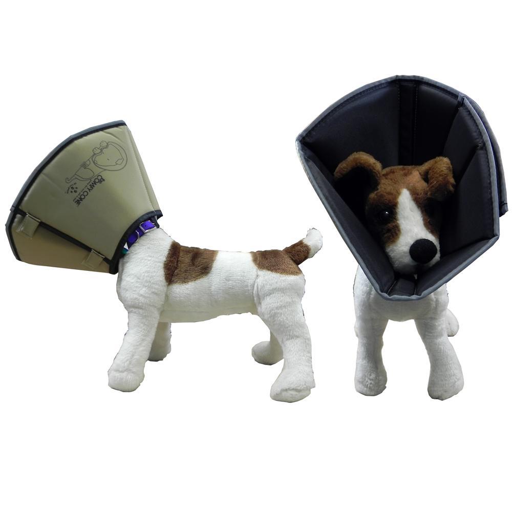 Comfy Cone Soft E-Collar Large Tan 25 cm