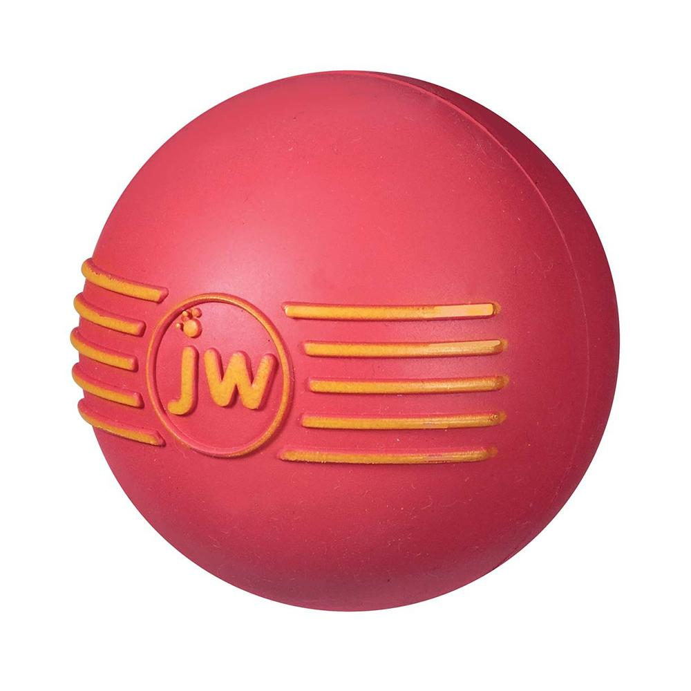 iSqueak Natural Rubber Ball Medium Dog Toy