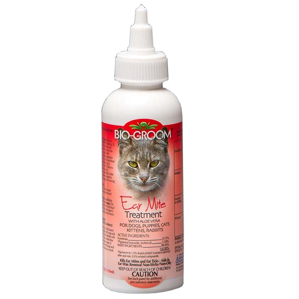 BioGroom Pet Ear Mite Treatment 4oz