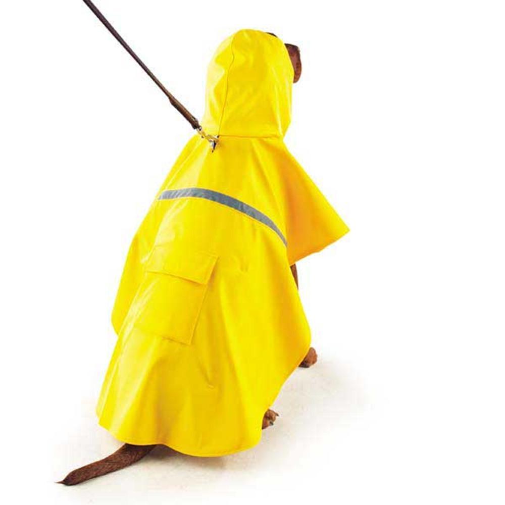 Rain Jacket for Dogs Yellow XXLarge