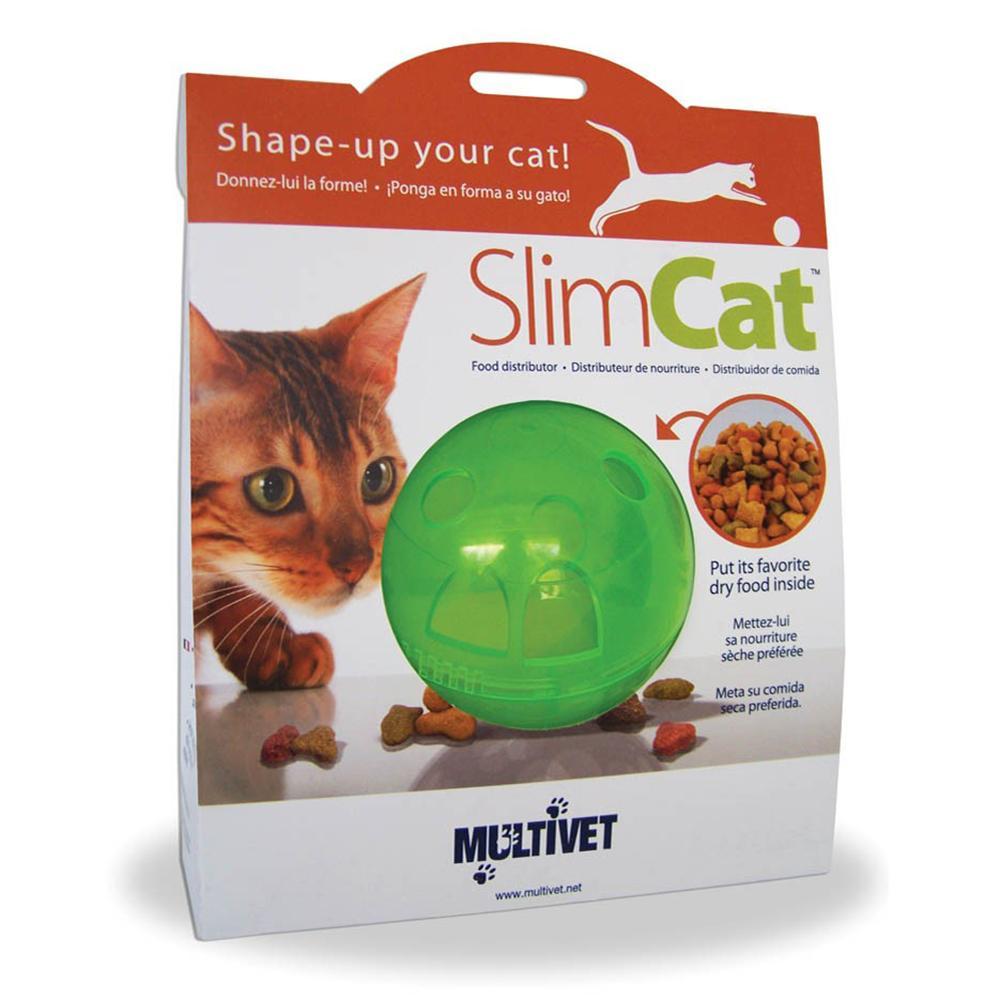 Multivet Slim Cat Treat Ball Green