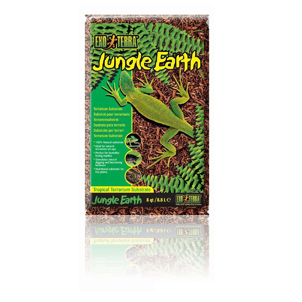 Exo Terra Jungle Earth Tropical Terrarium Substrate