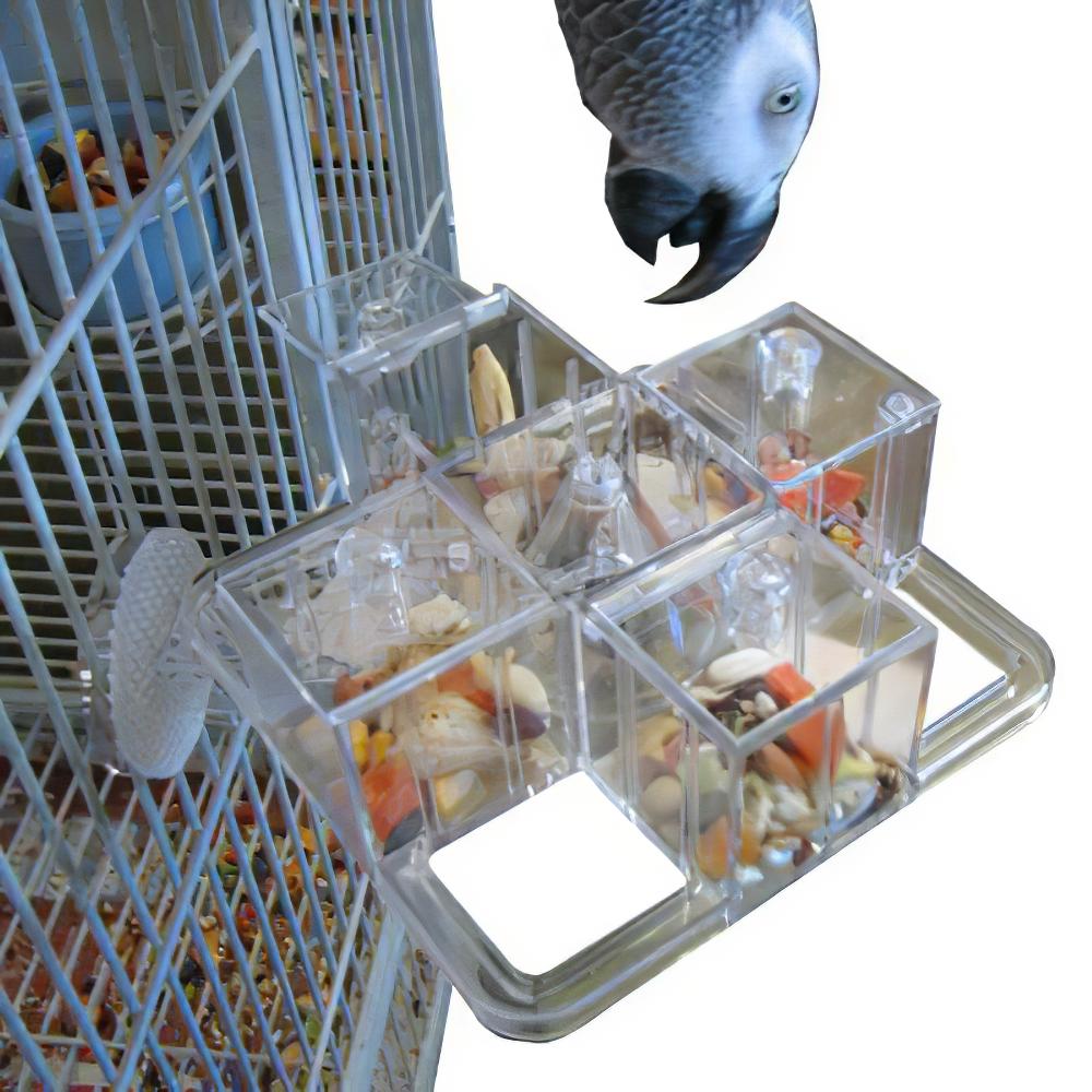 Foraging Carousel Interactive Bird Toy