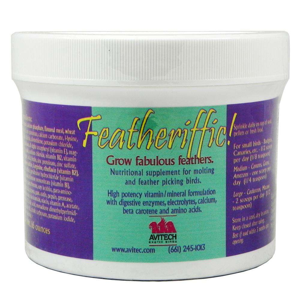Avitech Featheriffic Feather Conditioning Supplement 16oz