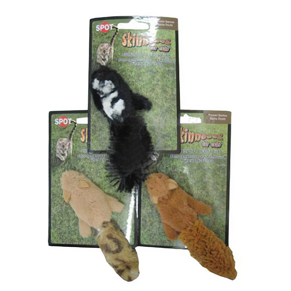 Skinneez for Cats Assorted Forest Catnip Toys