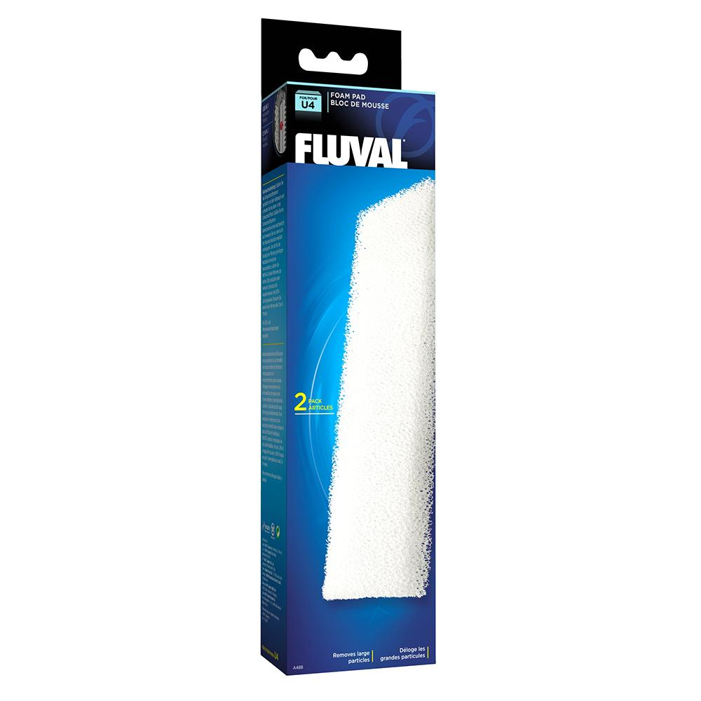 Fluval U4 Aquarium Filter Stage 1 Foam Pad 2 pack