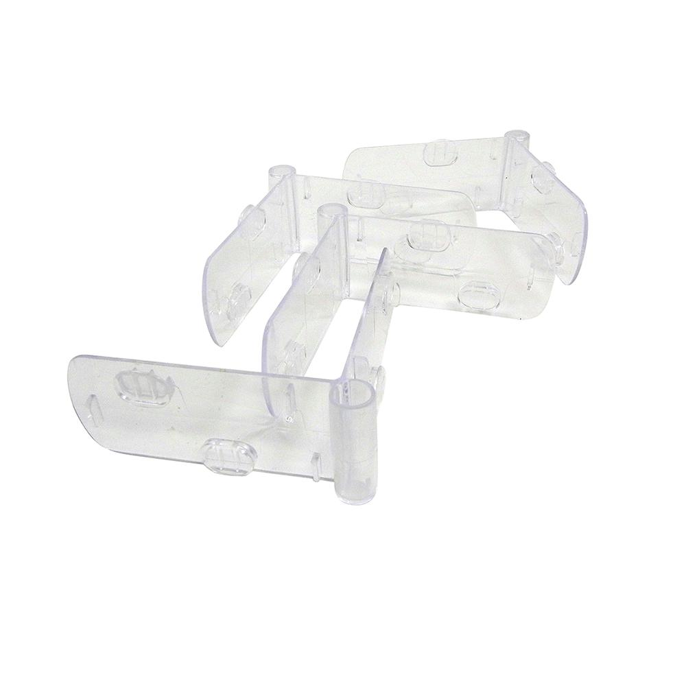 Vision L-shaped Corner Clip 4 Pk For S02, M02, M12, L02, L12