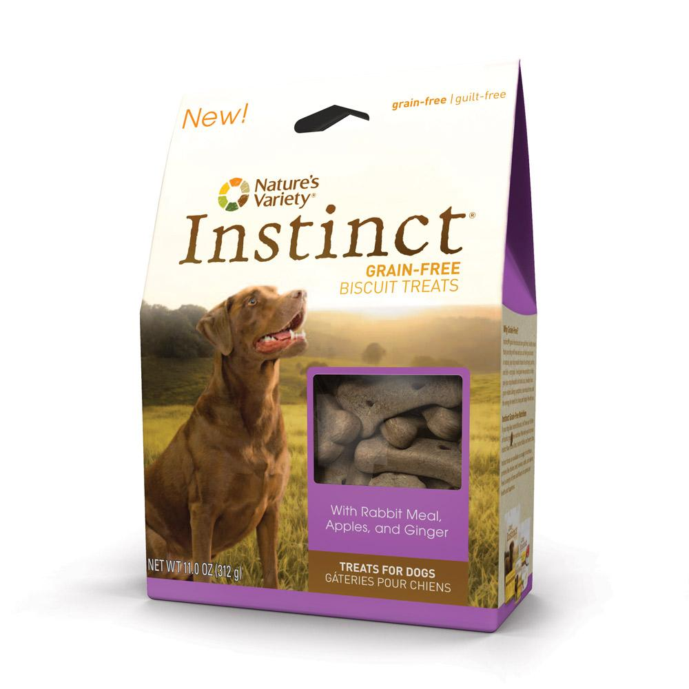 Natures Variety Instinct Rabbit Grainless Biscuits 10oz