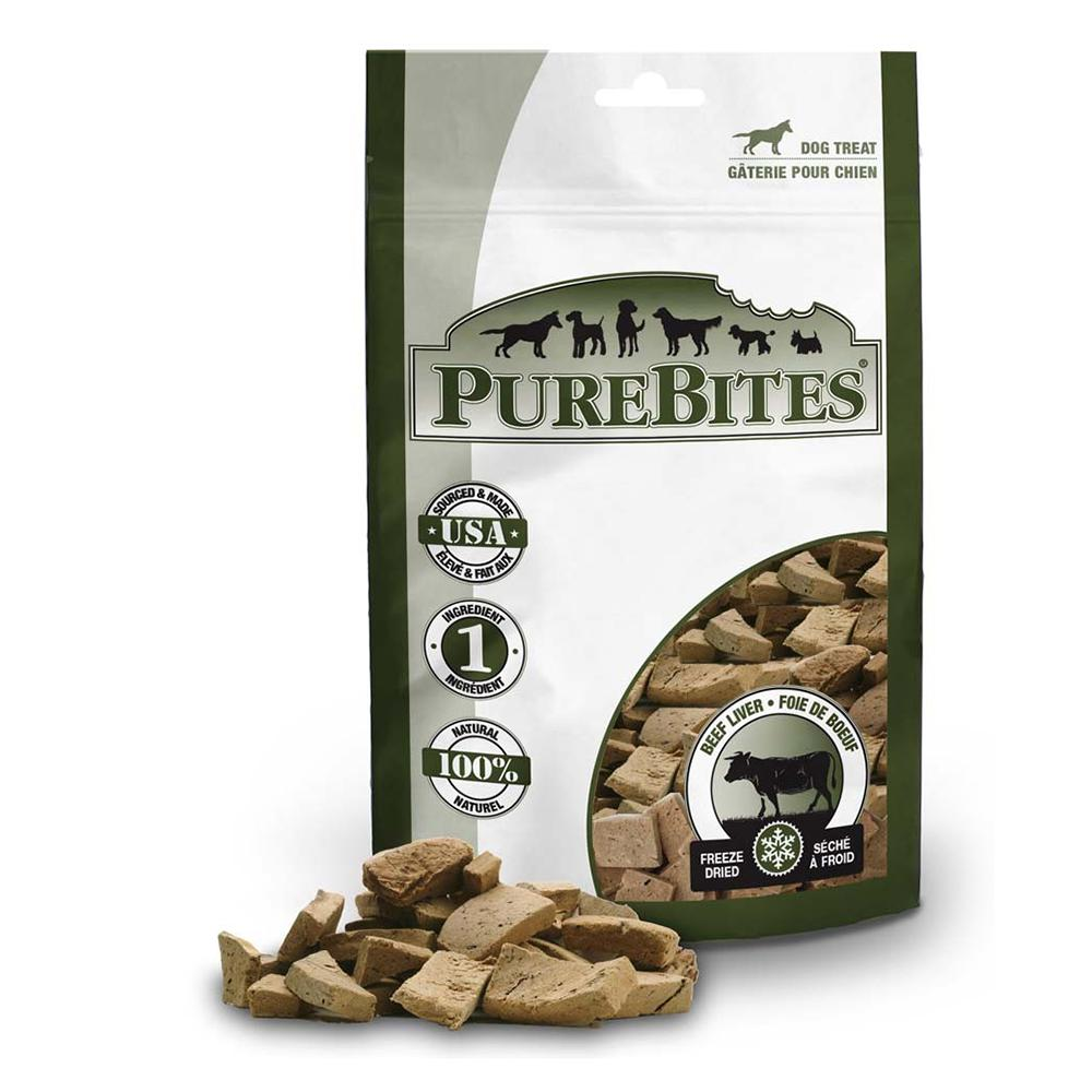 PureBites Freeze Dried Beef Liver Dog Treat 4.2-oz