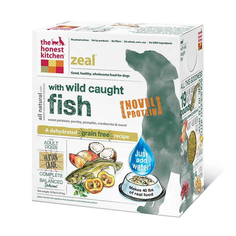 Honest Kitchen Zeal Dehydrated RAW Dog Food 10 lb