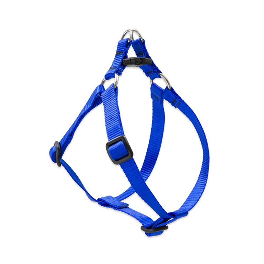 Lupine Nylon Dog Harness Step In Blue 24-38-inch