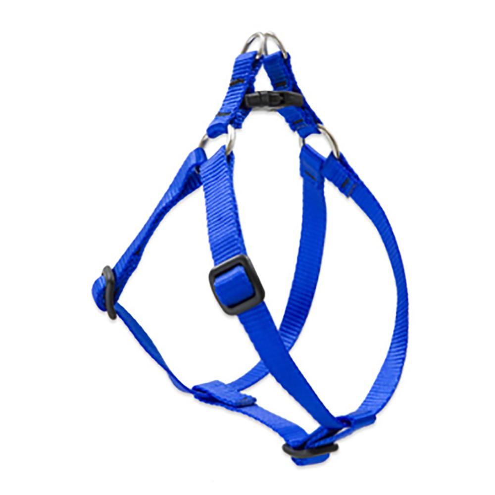 Lupine Nylon Dog Harness Step In Blue 20-30-inch